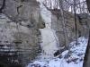 Gail Holzhausen: Bluff Waterfall. Monroe County.