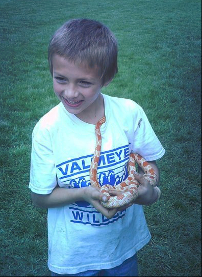 boy with snake, M. Mosbacher