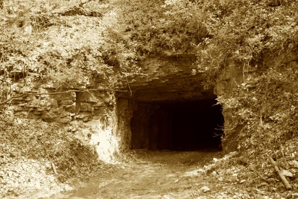 White Mine entrance, P. DauBach