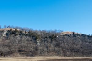 Bluffs landscape, T. Rollins
